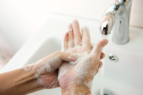SIMPLE HAND WASHING COULD ELIMINATE THOUSANDS OF YEARLY HOSPITALIZATIONS.